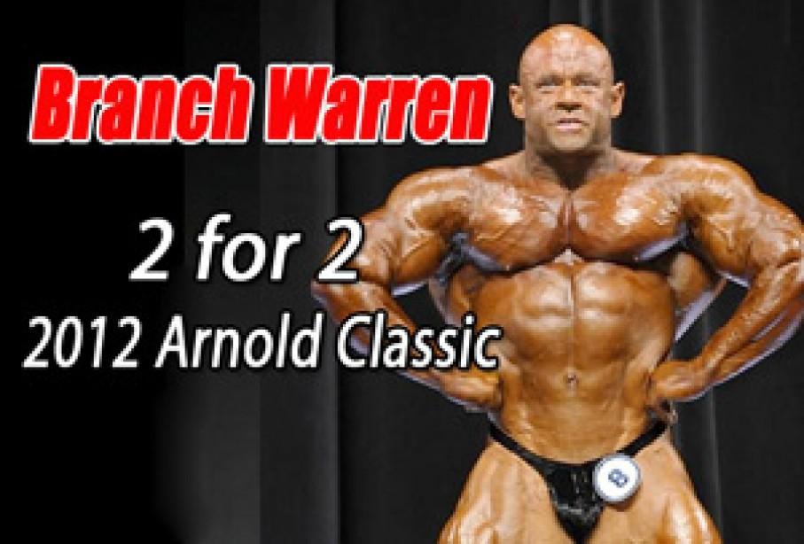 Branch Warren Wins - The Pakman Breaks Top 5 - Men Results Here!