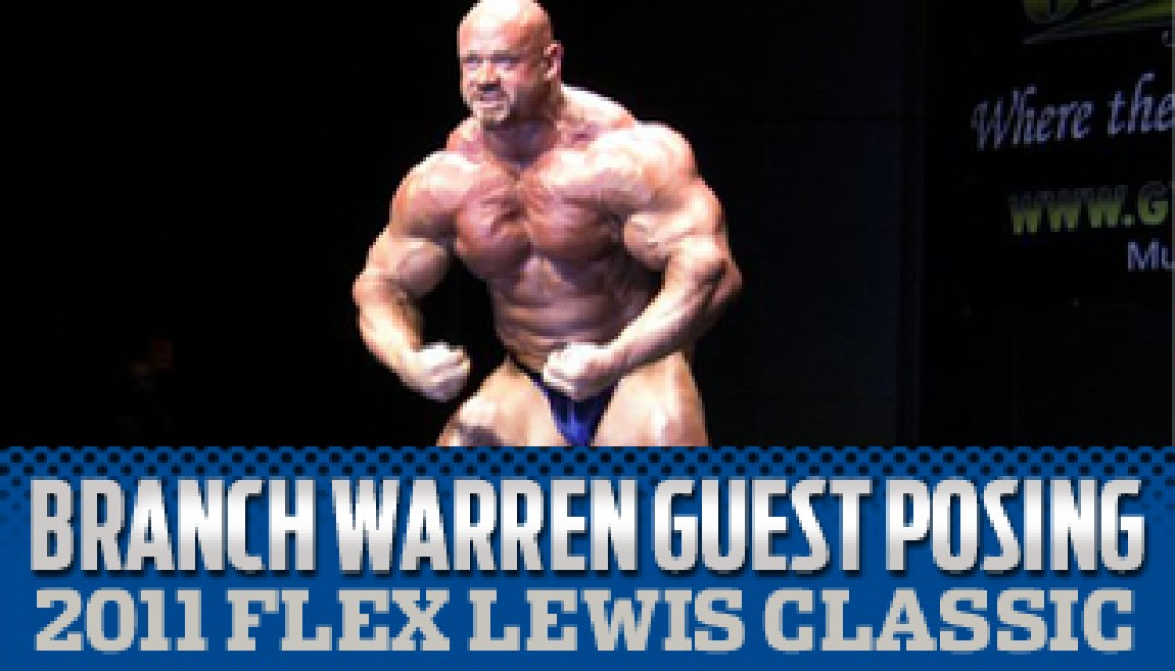 BRANCH WARREN GUEST POSING VIDEO!