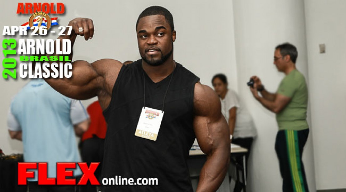 2013 Arnold Brazil Full Results - Brandon Curry Wins