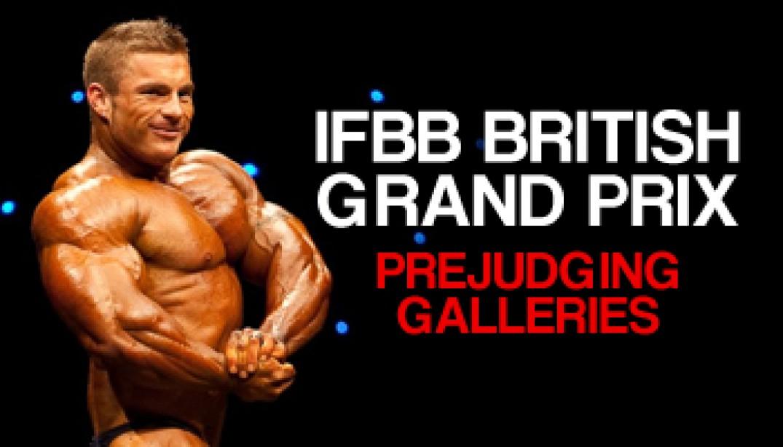 IFBB BRITISH GRAND PRIX PREJUDGING GALLERIES