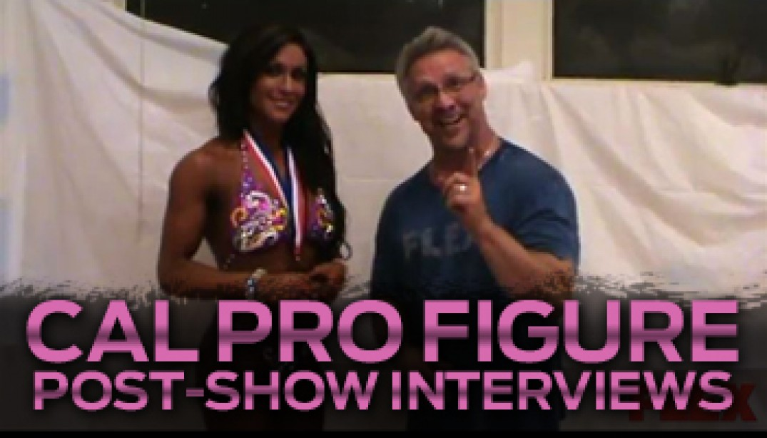 INTERVIEWS FROM THE CAL PRO!