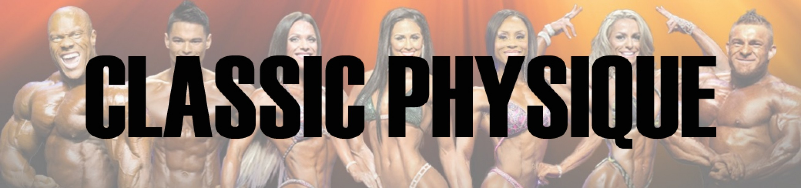 2016 Olympia Classic Physique Call Out Report