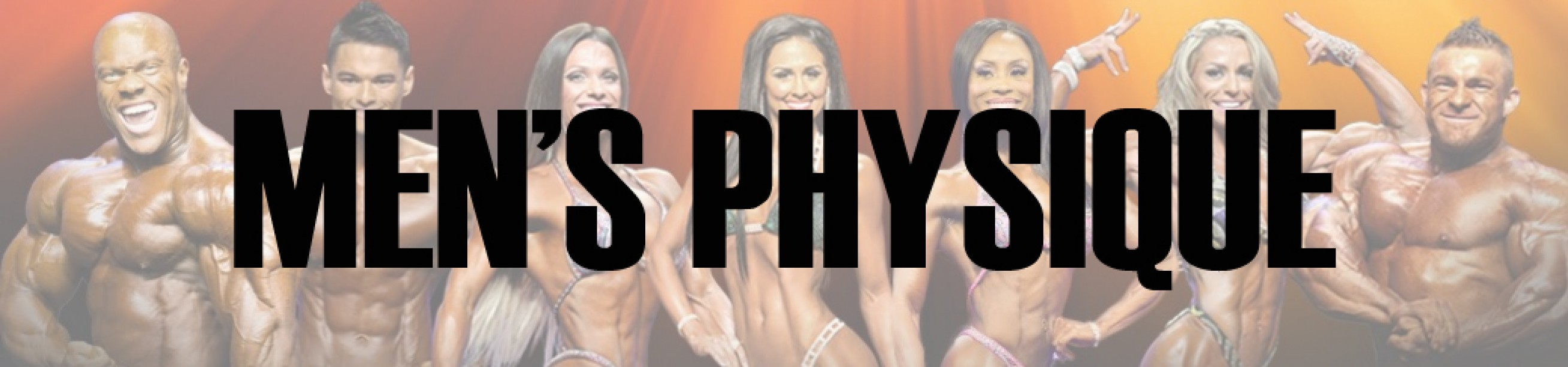 2016 IFBB New York Pro Men's Physique Call Out Report