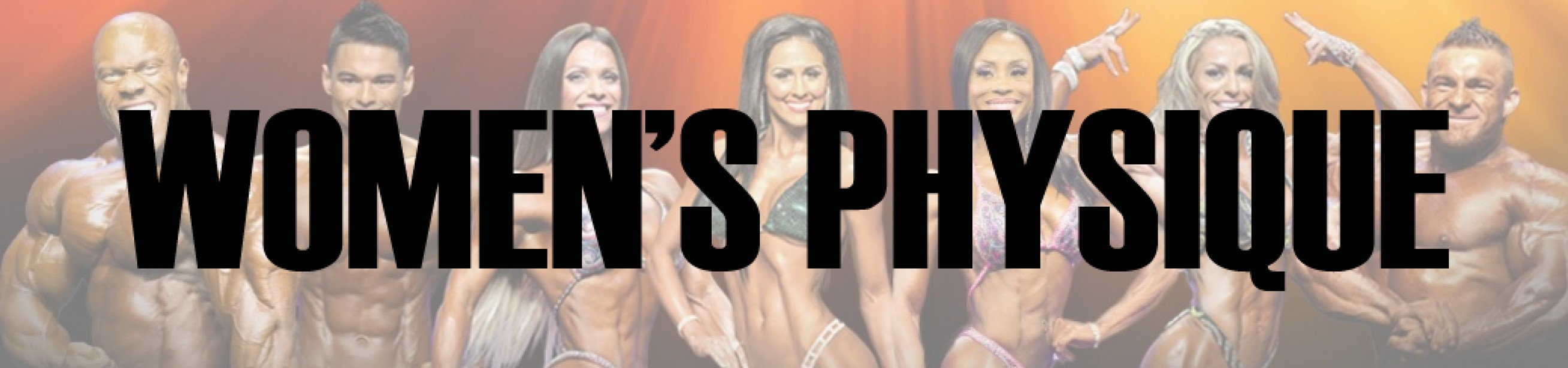 2016 Olympia Women's Physique Call Out Report