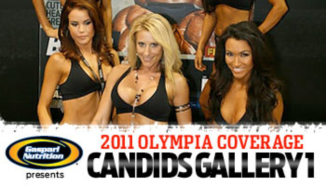 Olympia Candids Gallery 1