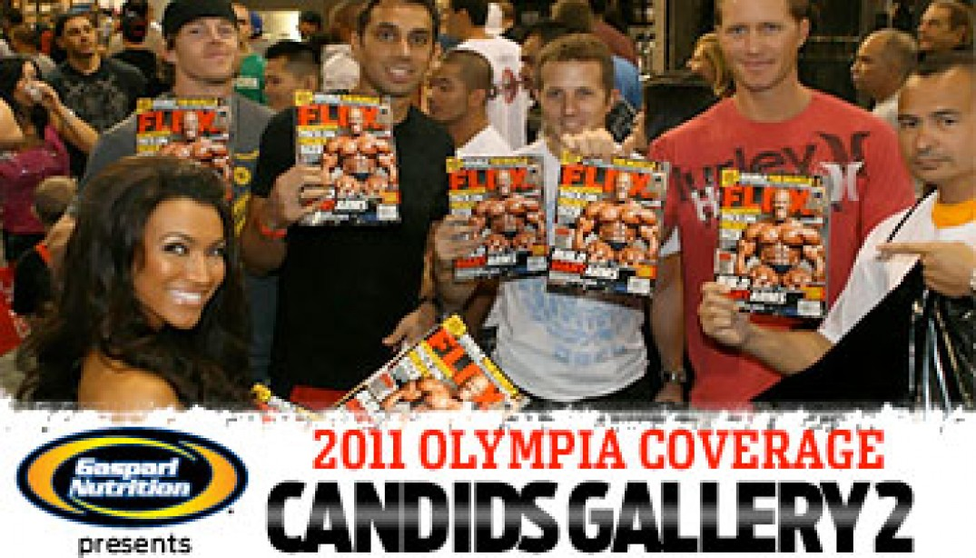 Olympia Candids Gallery 2