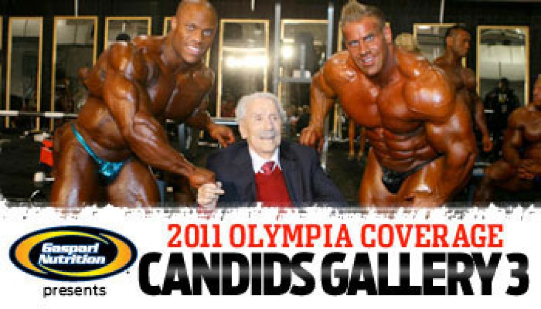 Olympia Candids Gallery 3