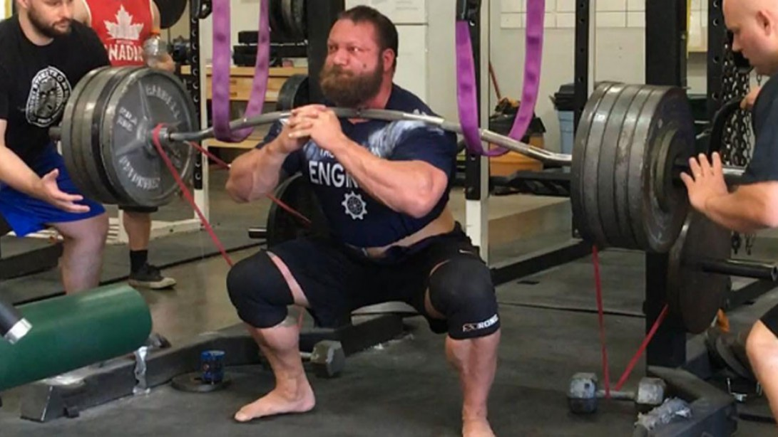 Chris Duffin's Freakish Front Squat