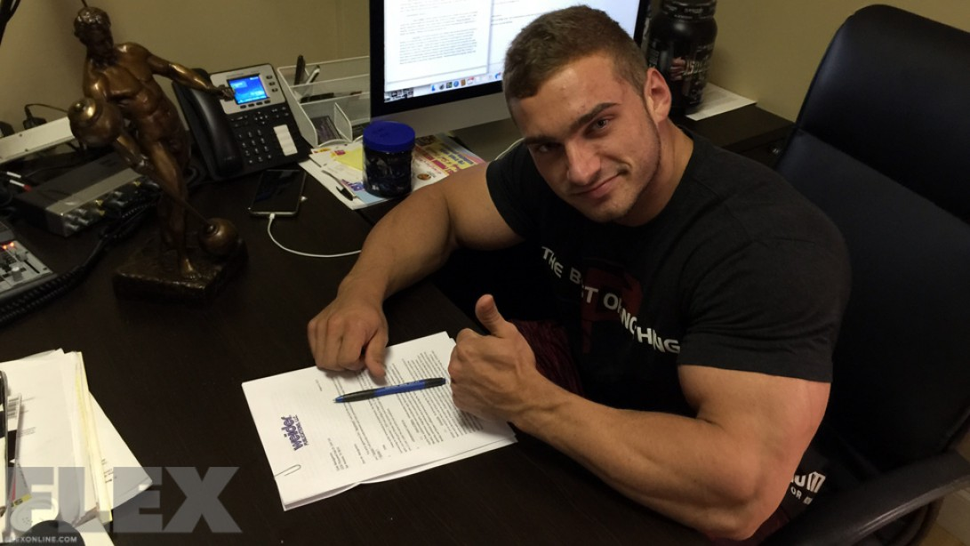 Cody Montgomery Signs with AMI