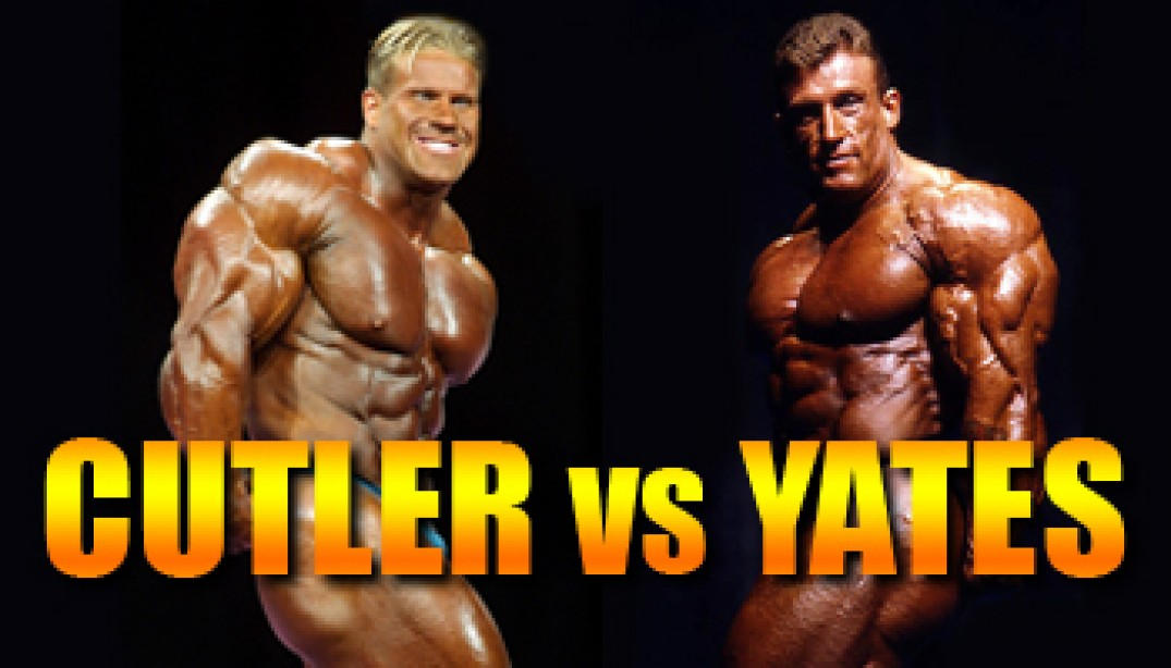 OLYMPIA CLASH OF THE TITANS: CUTLER VS. YATES