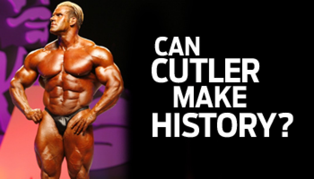 2009 OLYMPIA: CAN CUTLER MAKE HISTORY?