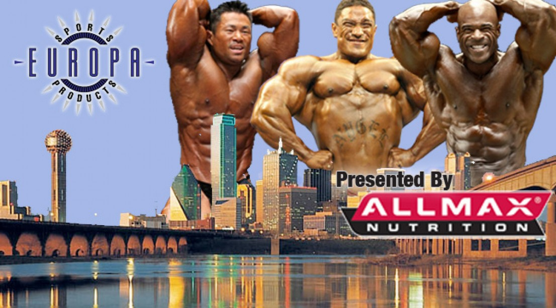 Dallas Europa 2012 Written Pre-Show Assessment