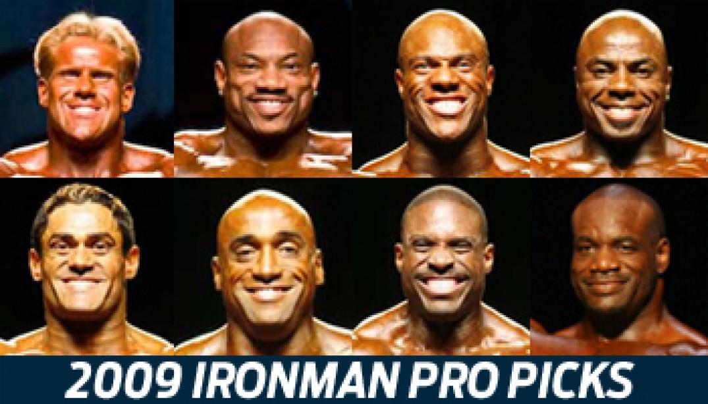 2009 IRONMAN PRO PICKS