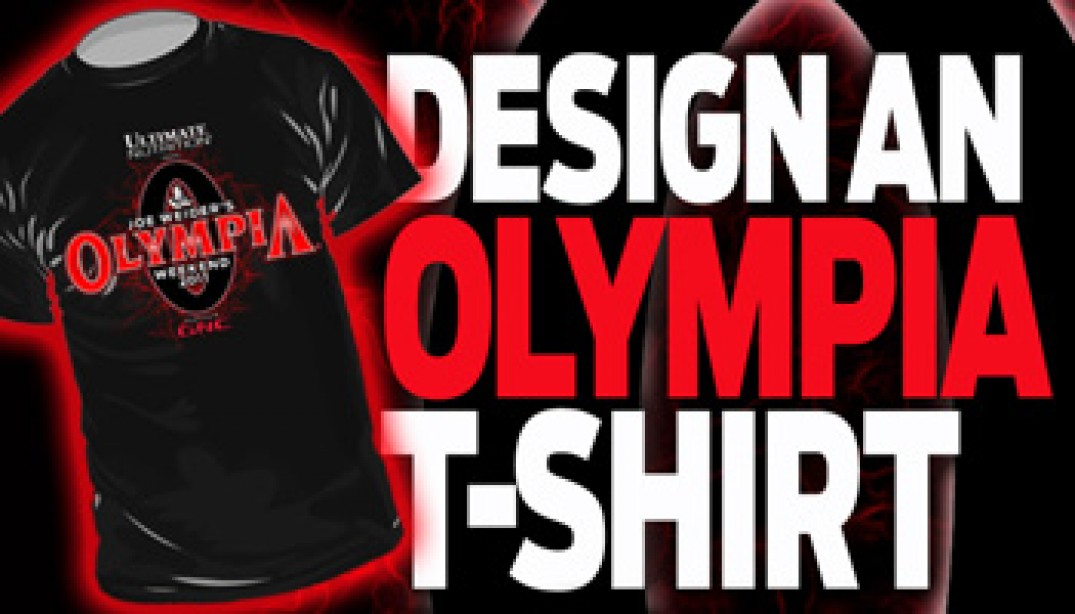 WANNA BE A PART OF THIS YEAR'S OLYMPIA?