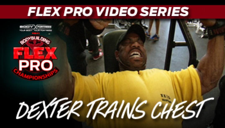 NEW FLEX VIDEO: DEXTER JACKSON!