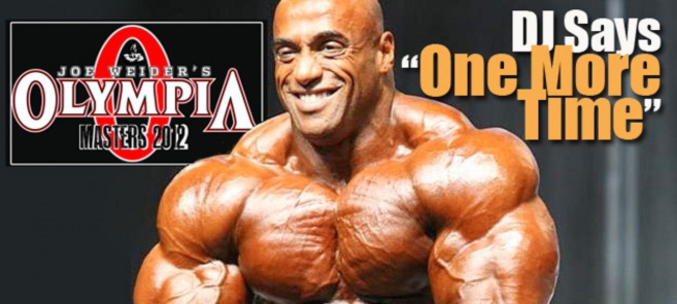Dennis James Throws Hat into Masters Olympia Ring