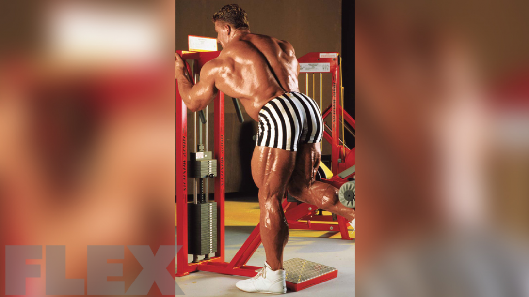 Defined, Hanging Hamstrings