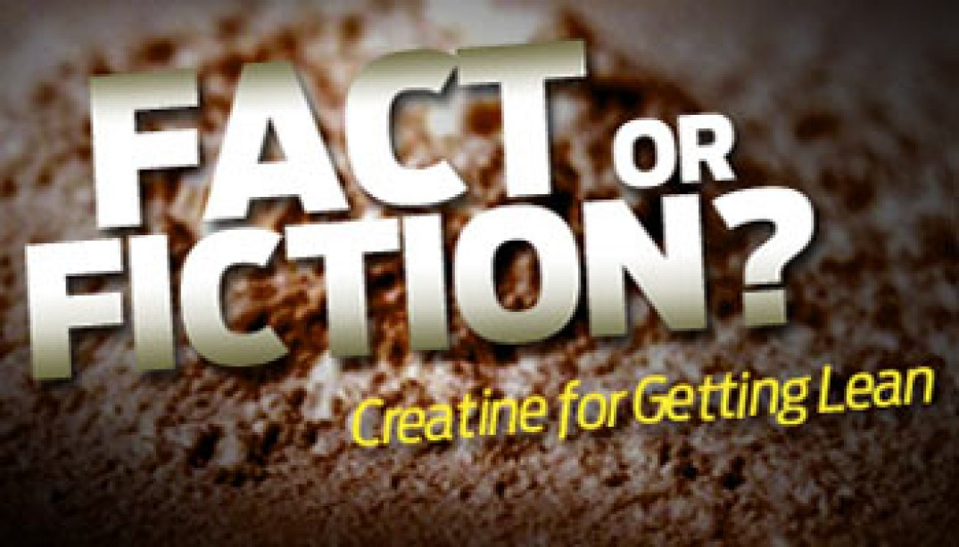 Fact or Fiction: Creatine for Getting Lean