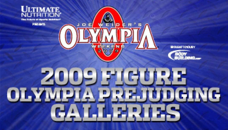 2009 FIGURE OLYMPIA PREJUDGING GALLERIES