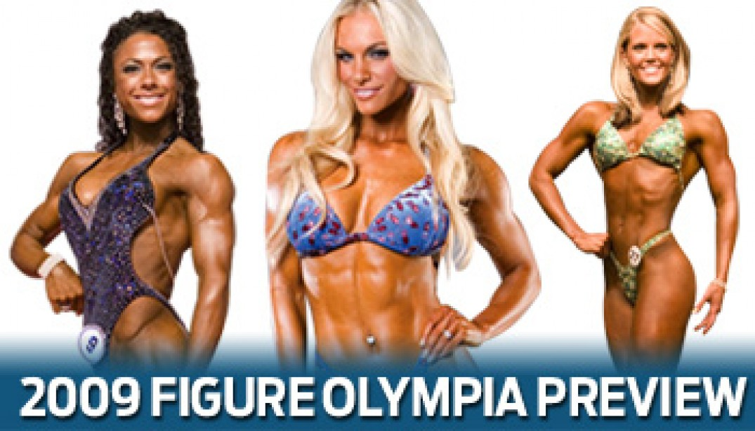 2009 FIGURE OLYMPIA PREVIEW