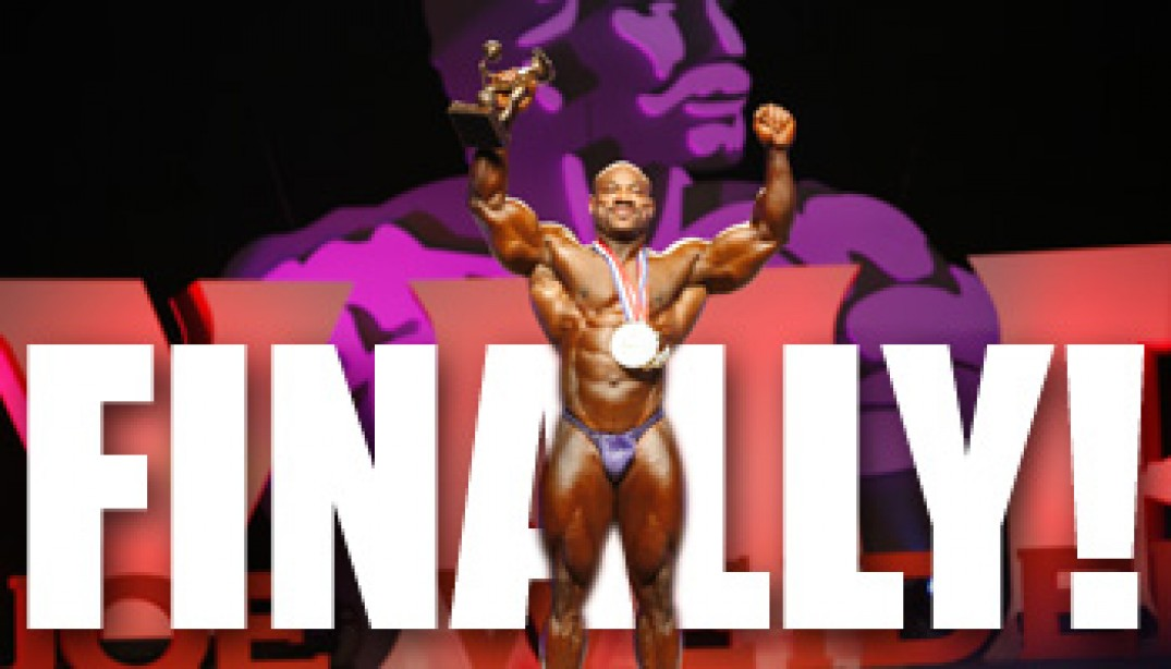 2008 MR. OLYMPIA FINALS