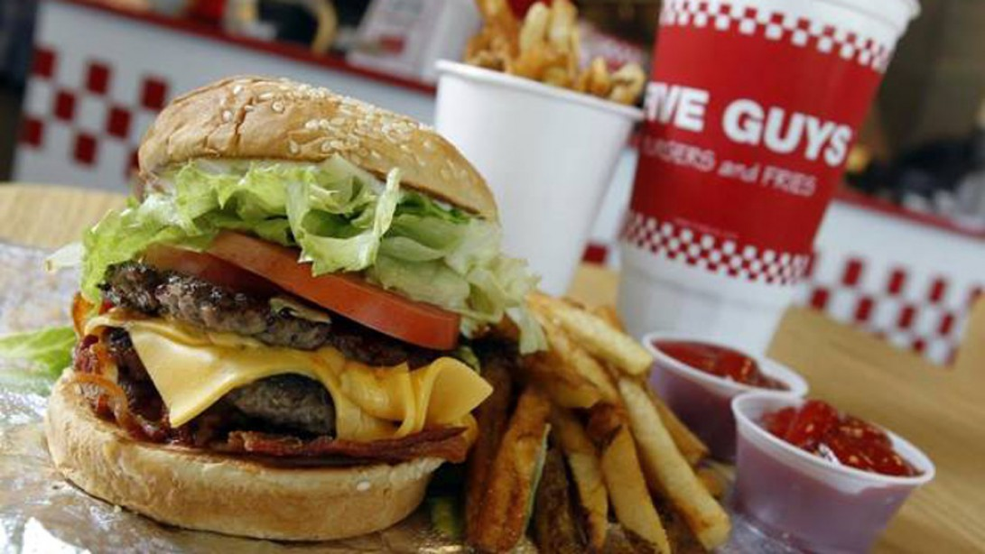 Fast Food Shakedown Five Guys Muscle Fitness