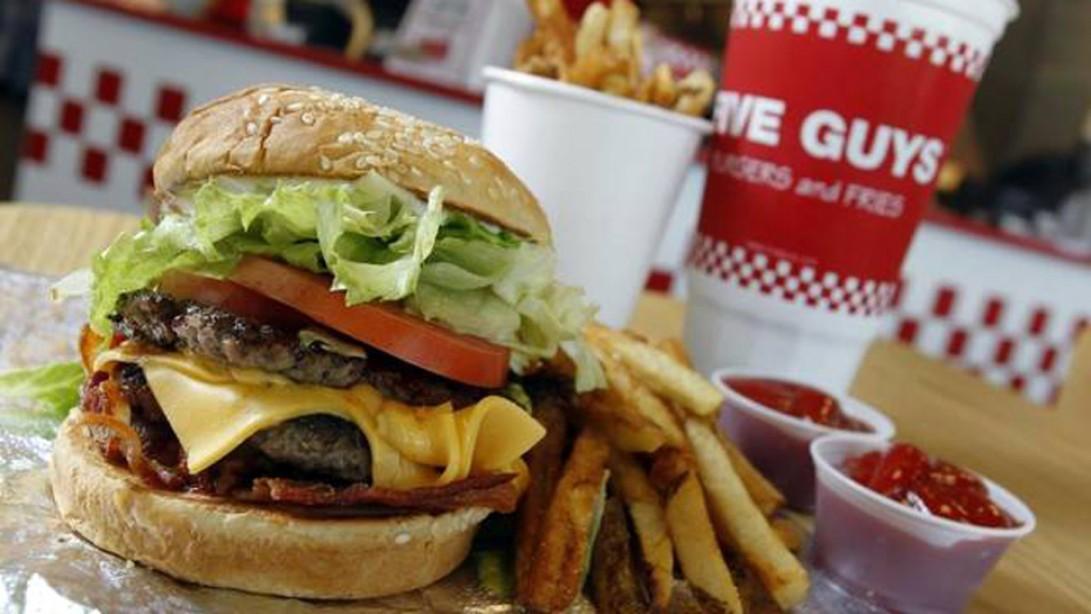 Fast-Food Shakedown: Five Guys