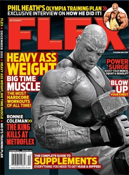 December Cover Story - Ronnie Coleman's Brutal Workouts!