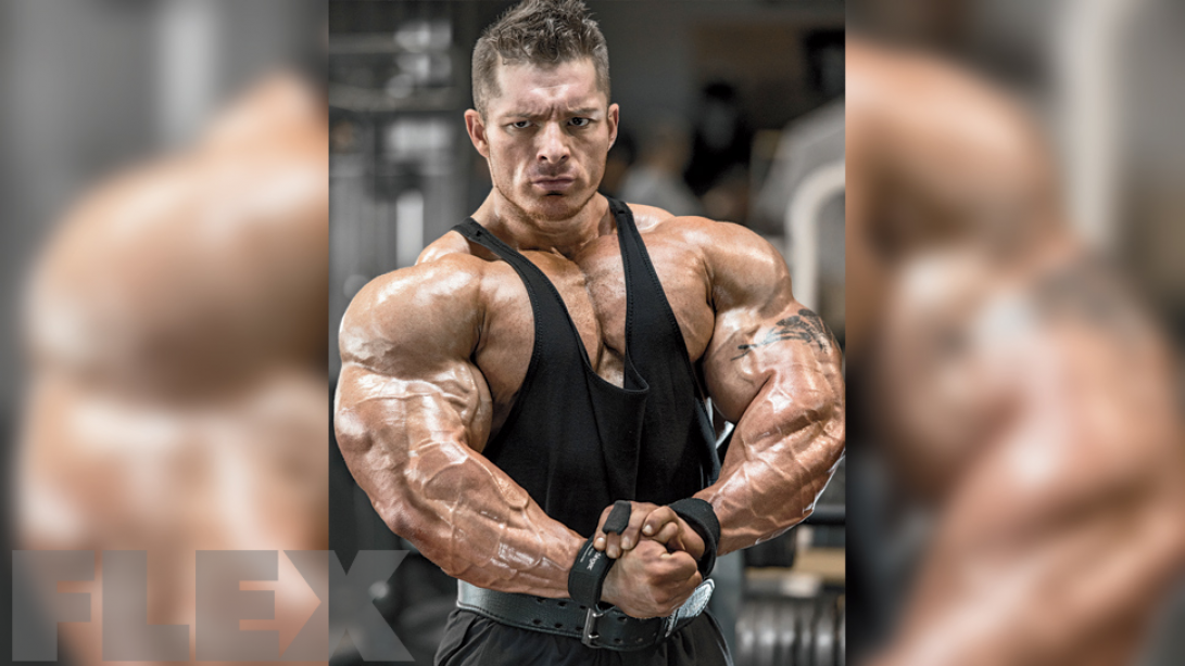 Flex Lewis on the 212 Weight Limit