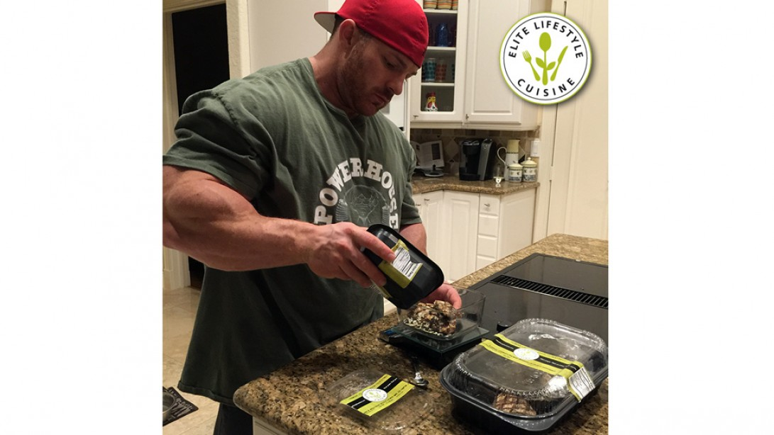 Elite Lifestyle Cuisine Signs Olympia 212 Bodybuilding Champion