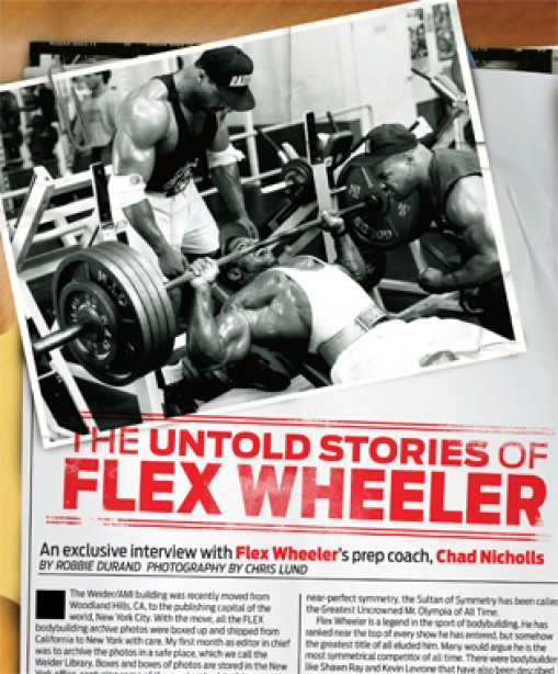 The Untold Stories of Flex Wheeler