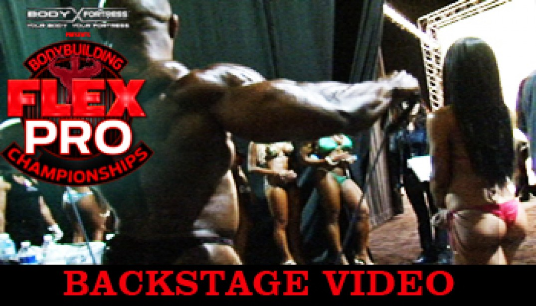 FLEX PRO BACKSTAGE VIDEO!
