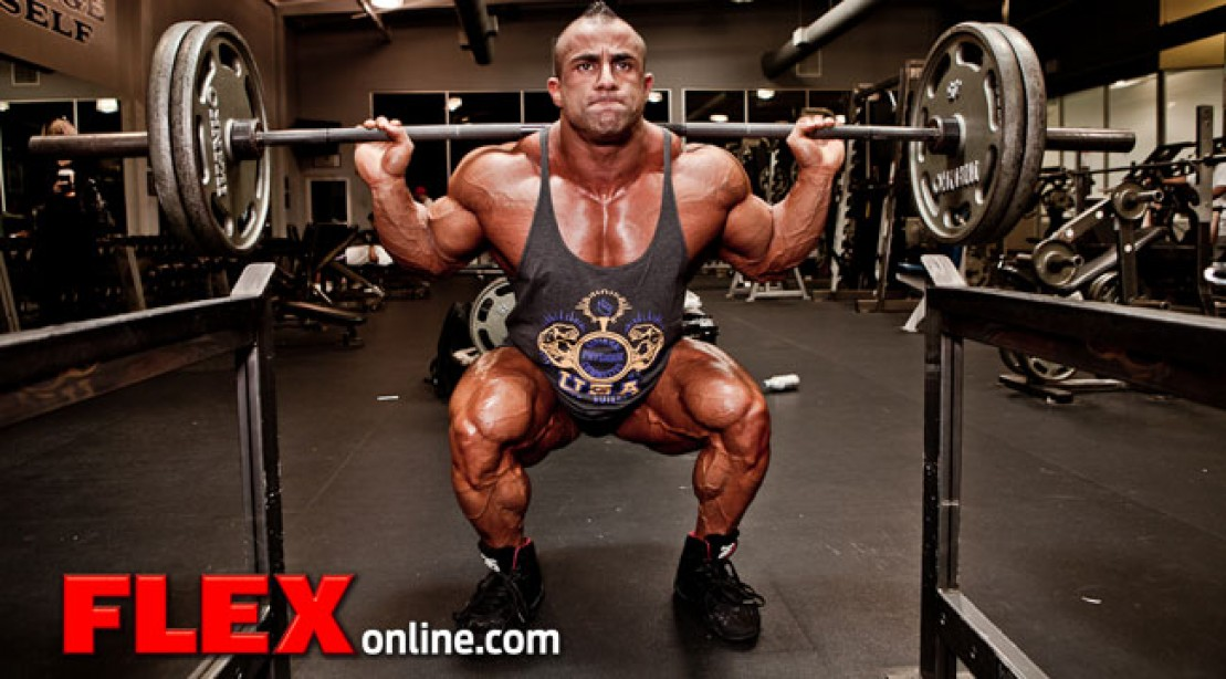 Fouad Abiad Prepares Meal 5 prep for the Arnold