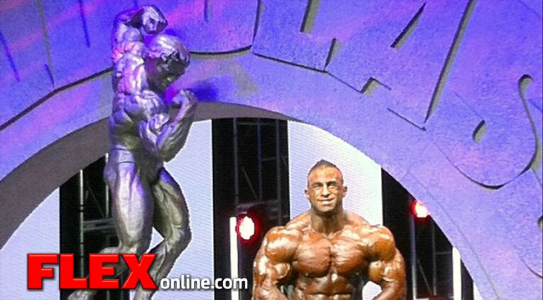 Fouad's 2013 Arnold Classic Reflection