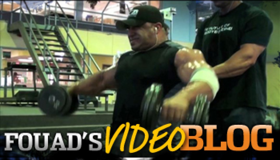 VIDEO BLOG: Shoulder Training!