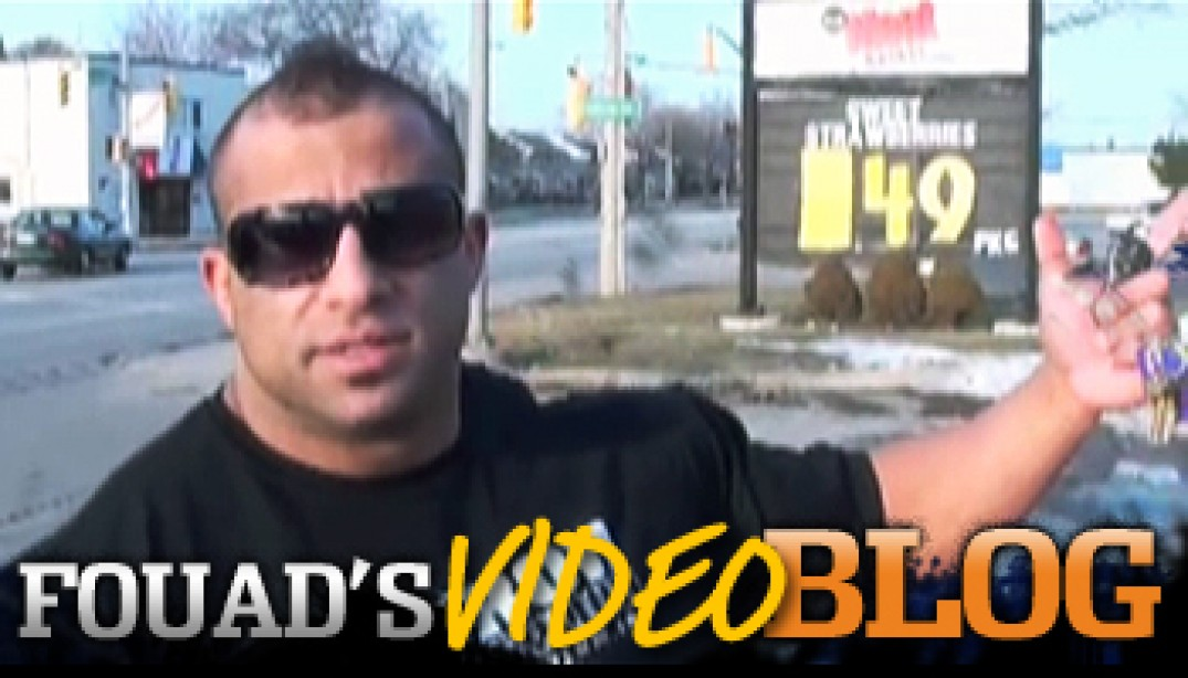 FOUAD ABIAD'S VIDEO BLOG!