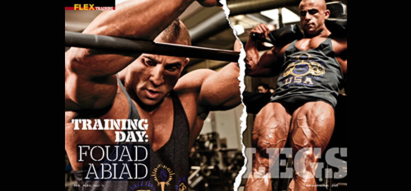 VIDEO: TRAINING DAY with Fouad Abiad
