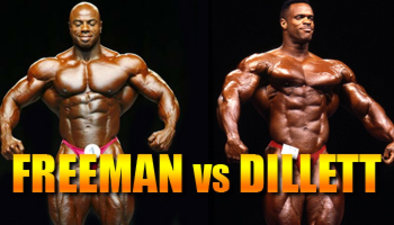 OLYMPIA CLASH OF THE TITANS: FREEMAN VS DILLET