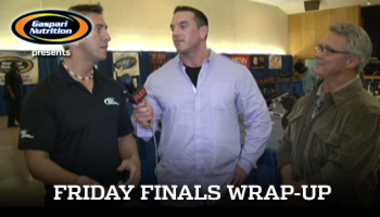 VIDEO: FRIDAY FINALS RECAP!