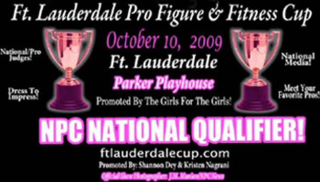 FIRST-ANNUAL FT. LAUDERDALE CUP