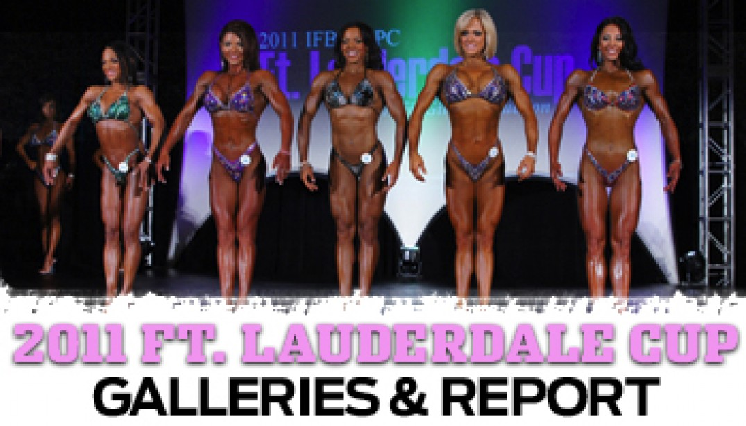 IFBB FT. LAUDERDALE PRO REPORT & GALLERIES!