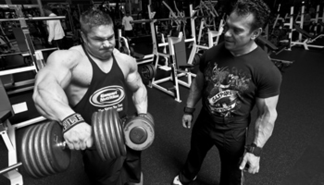 FLEX LEWIS AND RICH GASPARI VIDEO