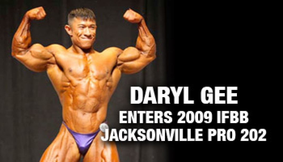 DARYL GEE ENTERS 2009 IFBB JACKSONVILLE PRO 202