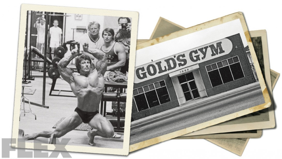 Gold's Gym Turns 50