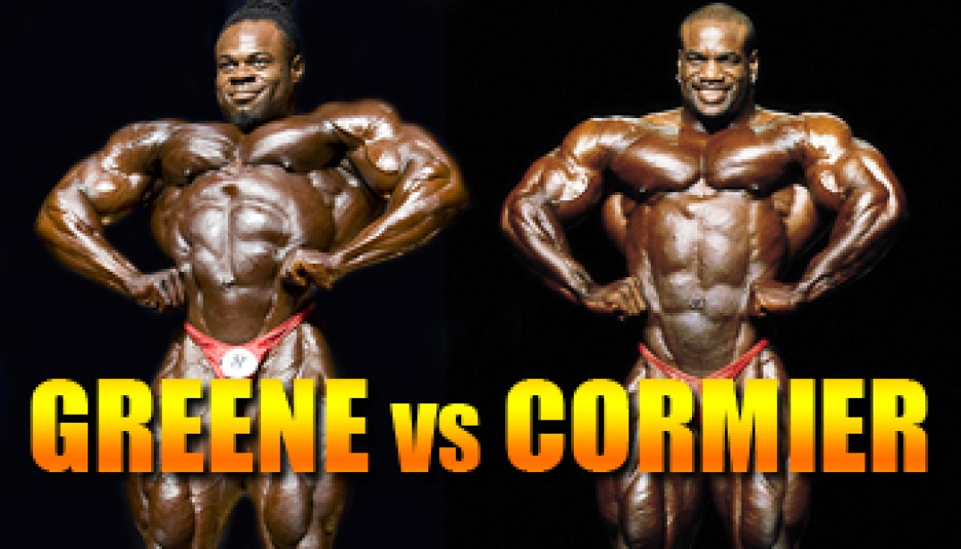 OLYMPIA CLASH OF THE TITANS: GREENE VS. CORMIER