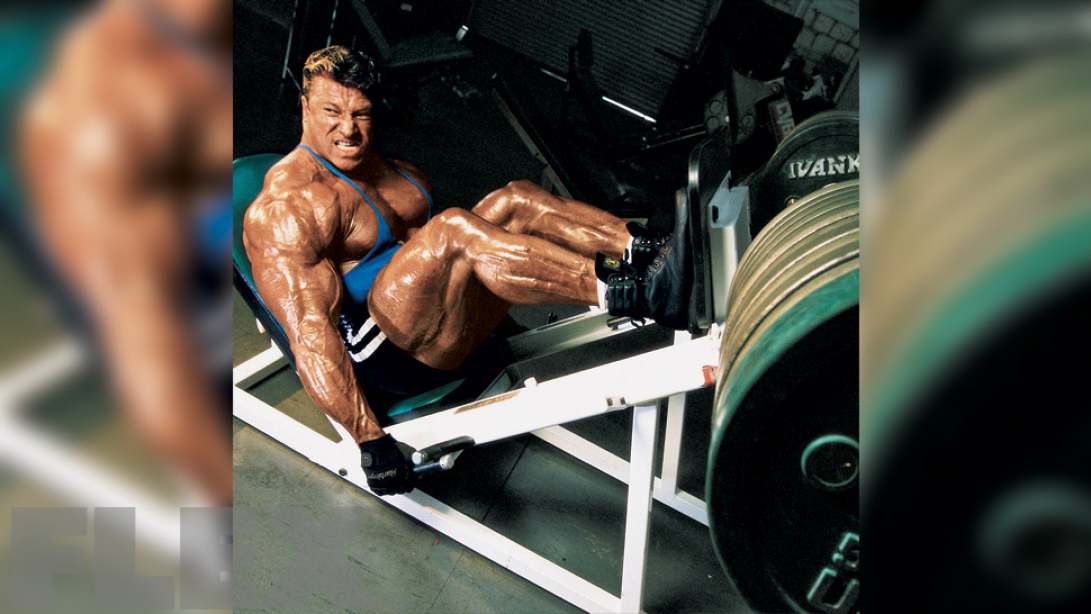 Günter Schlierkamp's Hardcore Leg Workout