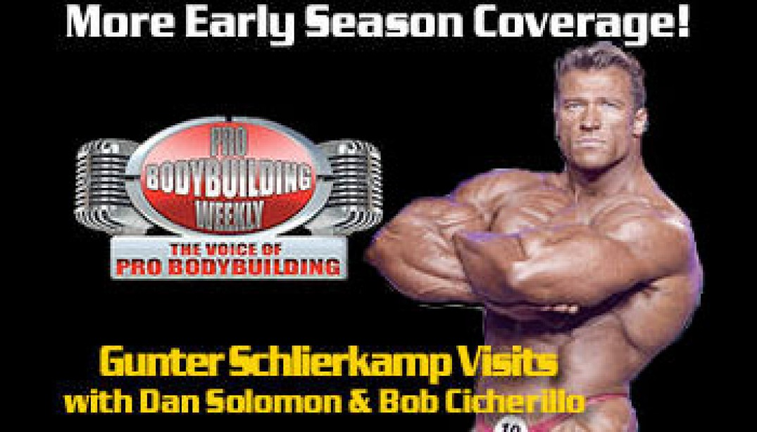 PBW: GUNTER SCHLIERKAMP RETURNS!