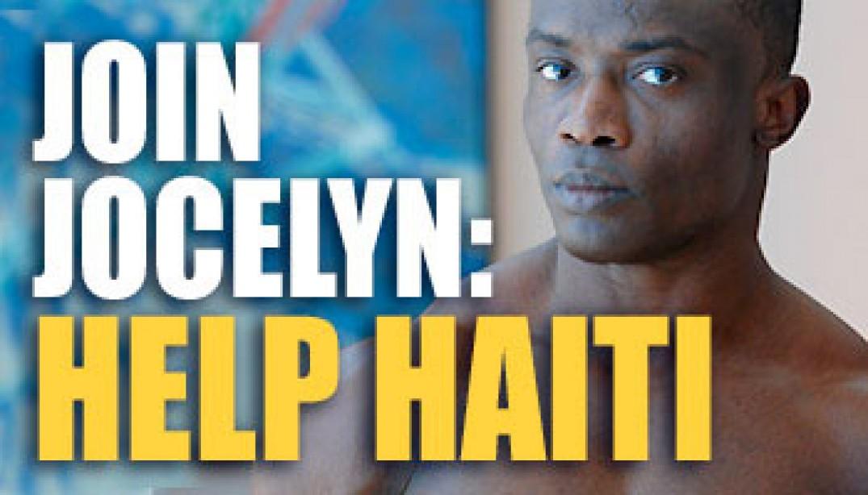 JOIN JOCELYN: HELP HAITI