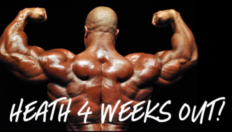 HEATH 4 WEEKS OUT!