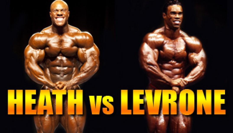 OLYMPIA CLASH OF THE TITANS: HEATH VS LEVRONE